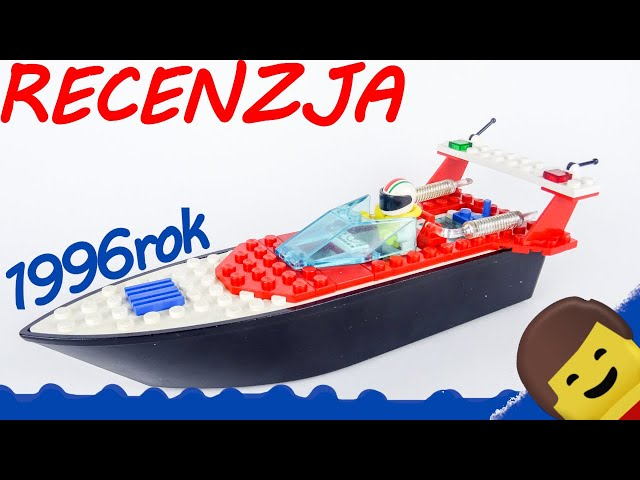LEGO TOWN 4002 Riptide Racer / Recenzja KBL
