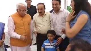 Karnal CM Haryana Bank Colony At Parvesh Sharma Bjp Leader House