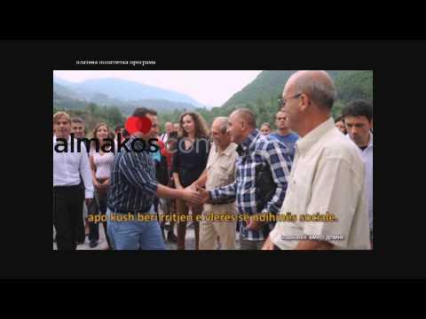 Nikola Gruevski ju drejtohet shqiptareve (Almakos-TV)