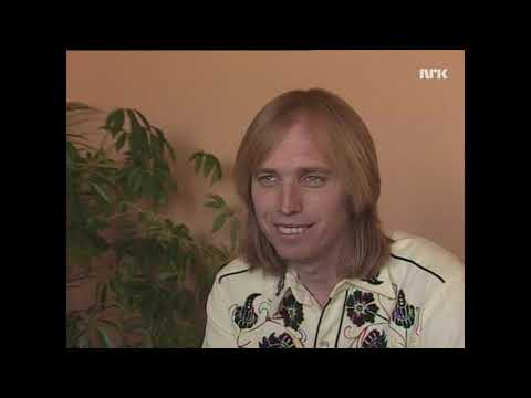 Tom Petty on Full Moon Fever & working with Jeff Lynne (Norwegian TV_1989)