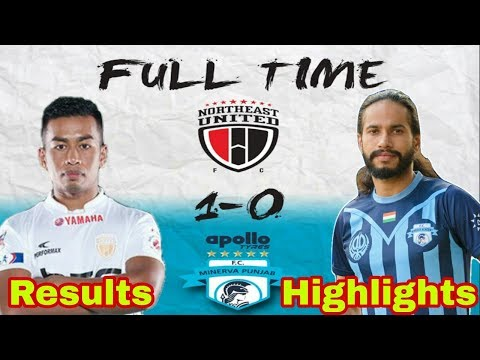 ISL 5 : NorthEast United Fc Vs Minerva Punjab Fc Match Results & Review | NEUFC Vs MPFC |