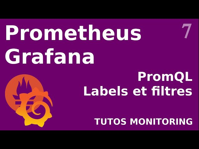 PROMETHEUS - 7. PROMQL : LABEL ET FILTRE