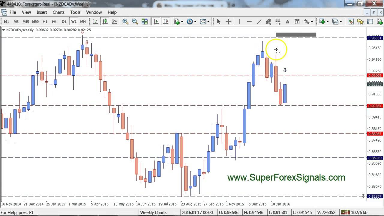 Learn to trade Forex : Naked Price Action Big Shadow Trade - YouTube