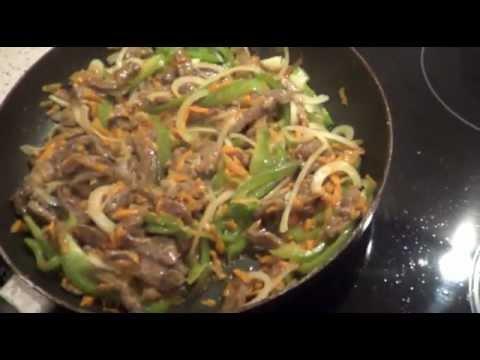 мясо по-китайски. готовим вместе