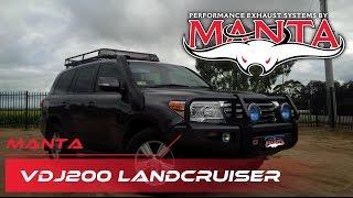 Manta Performance VDJ200 Landcruiser 3