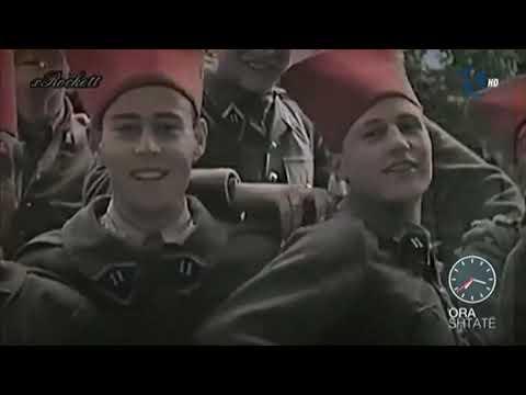Ora 7 - Imazhet e shqiptarëve gjatë rekrutimit në SS Skanderbeg - Klan Kosova