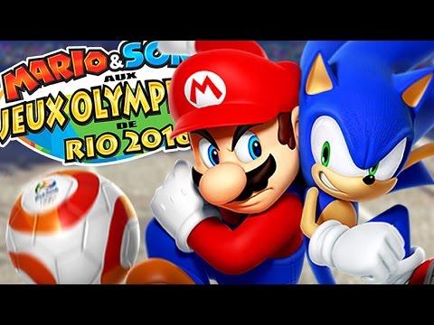 COMPÉTITION DE LA MUERTE ! | Mario Et Sonic aux Jeux olympiques de Rio 2016