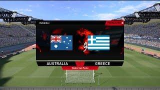 Αυστραλία-Ελλάδα |Φιλική Ανατροπή| PES 2016 ProGamerZ GREEK ULTIMATE Patch|