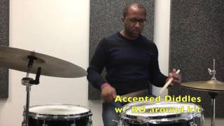 Q-Tip Jazz Drummer Lesson of the Week: Be a better soloist using rudiments TODAY!!!