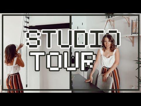 TOUR DO VINTE STUDIO *finalmente*  Inês Rochinha