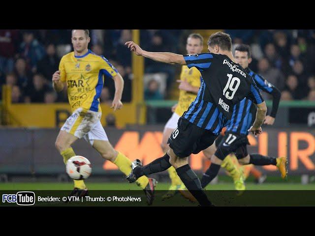 2014-2015 - Jupiler Pro League - 16. Club Brugge - Waasland-Beveren 4-2