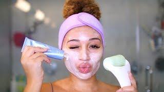 DIY Facial At Home! *clear skin tips*