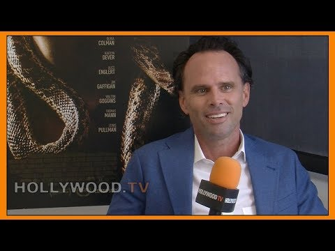 WALTON GOGGINS & JIM GAFFIGAN talk THEM THAT FOLLOW- Hollywood TV