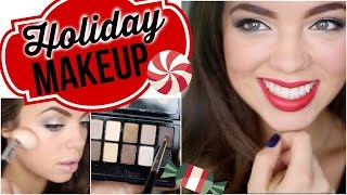 Holiday Makeup Tutorial!⎜Claudia Sulewski Thumbnail