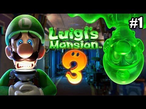 Luigi\'s Mansion 3 #1 — Секретная Ловушка {Switch} прохождение часть 1