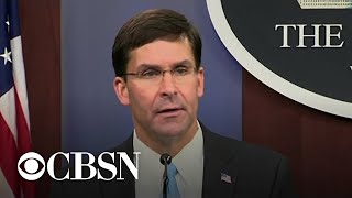 "Pentagon says U.S. is &quotnot abandoning"" Kurdish forces"