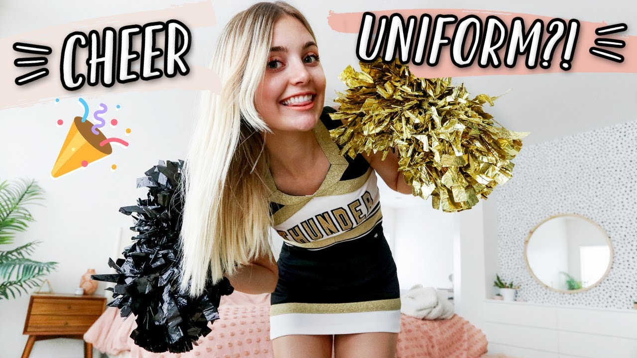 trying-on-my-high-school-cheer-uniform-5-years-later