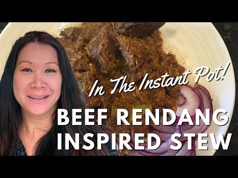 Beef Rendang – Instant Pot Recipe