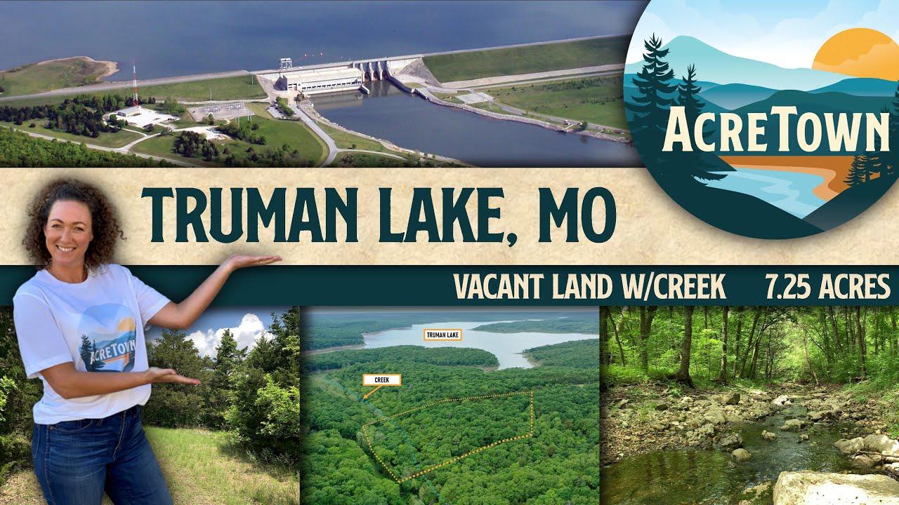 Land for Sale w/Creek Near Truman Lake, MO | 7+ acres | No Restrictions | Quarter-mile Walk to Lake