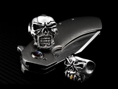 Chris Black Skull Rings