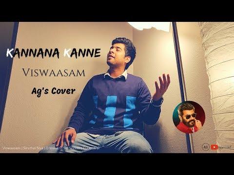 Kannana Kanne Viswasam - Ag's Cover | Ajith Kumar,Nayanthara | D.Imman | Siva