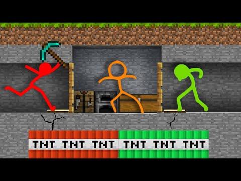 Stickman Vs Minecraft Season 2 All Episodes AVM Shorts 19 Animation Vs. Minecraft Shorts Alan Becker