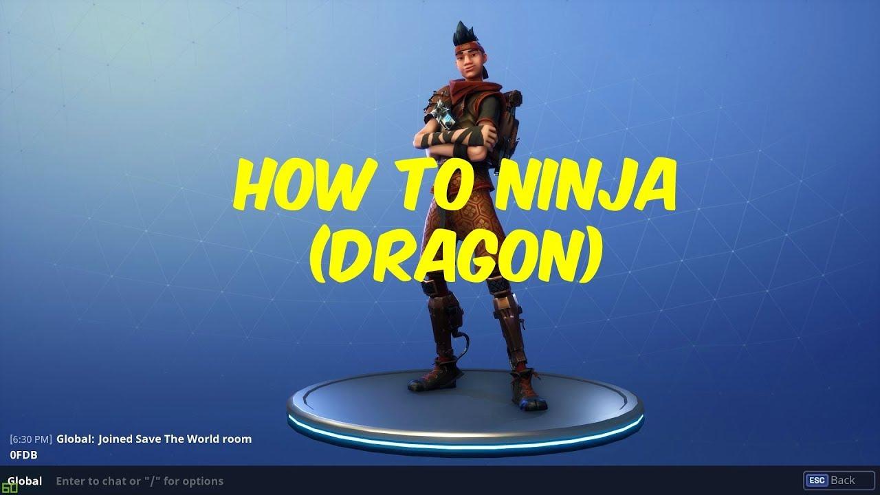 - fortnite save the world ninja loadout