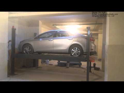 Hydro park 2130 advance four post parking lift