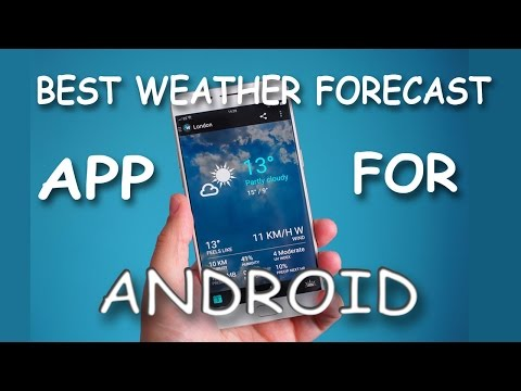 Best Weather Widgets App For Android!