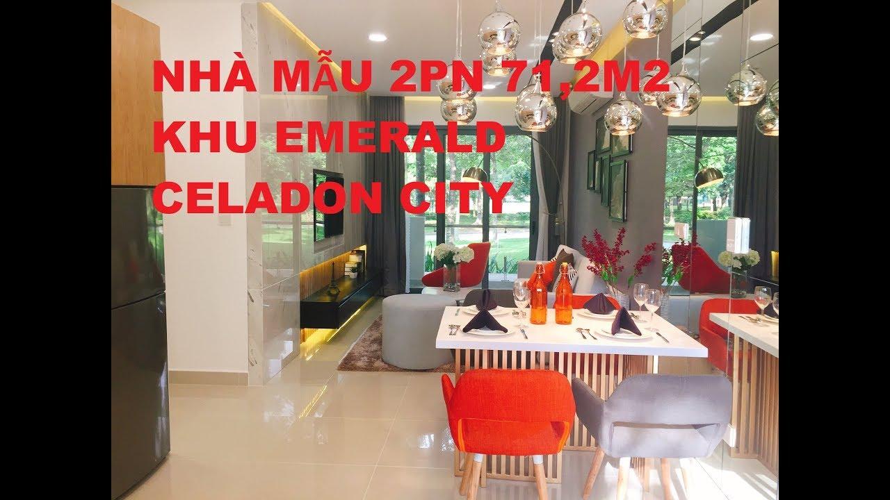 Celadon City – Nhà Mẫu 2PN 71,2m2 Khu Cao Cấp Emerald