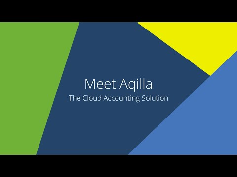 Meet Aqilla - cloud accounting software