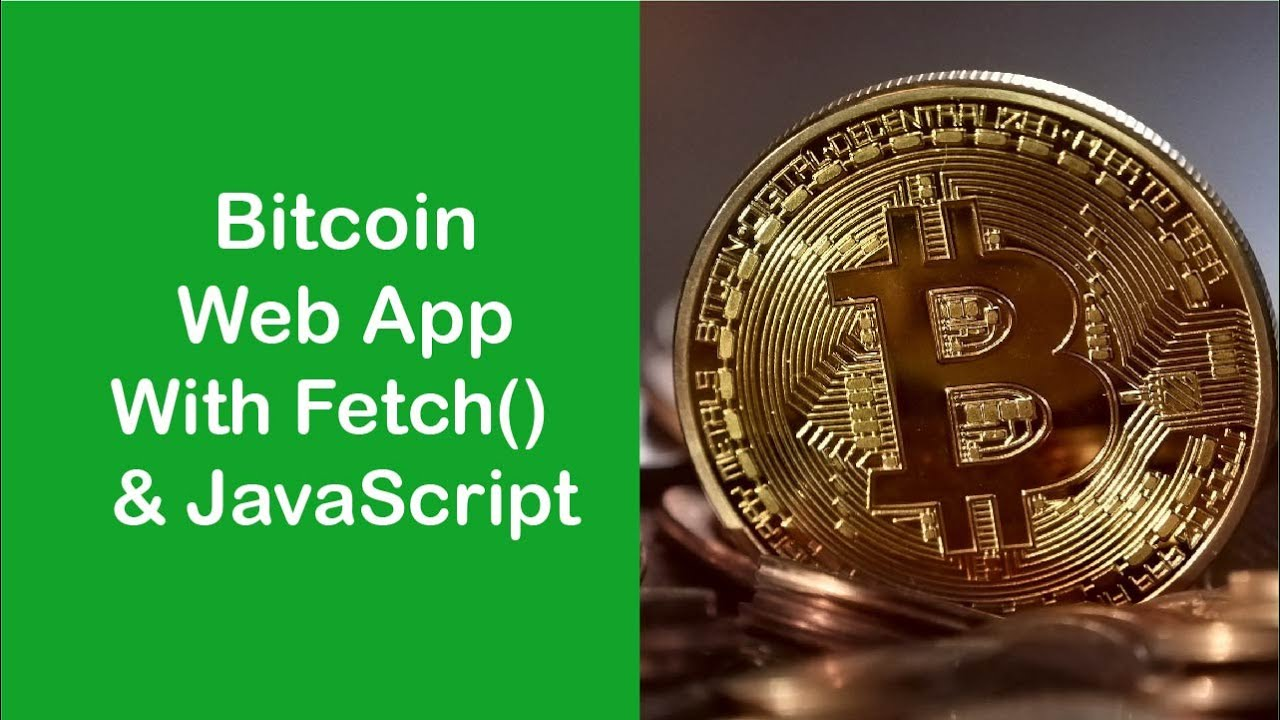 Build a Bitcoin Web App