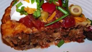 Gluten Free Bisquick Impossible Taco Pie