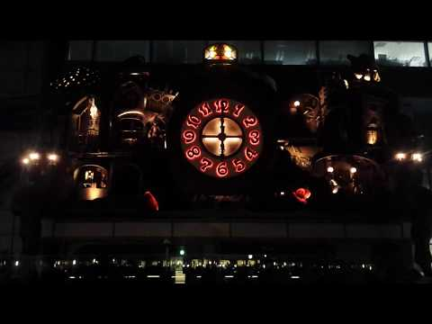 Miyazaki Clock (Giant Ghibli Clock, NI-Tele Really BIG Clock