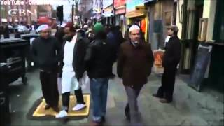Muslims Enforcing Sharia Law on the streets of London