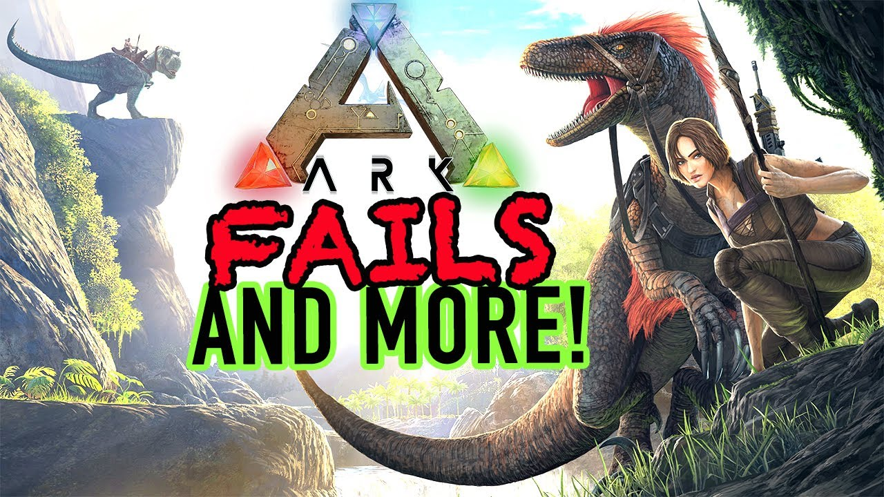 Funny Montage | Ark Survival | Ark Survival Evolved Fails, Glitches, Funny Moments And More!