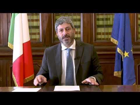 Presentazione del Rapporto Asvis sui territori: videomessaggio del Presidente Fico