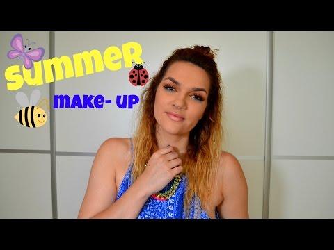 SUMMER MAKEUP LOOK + Problemi sa masnom kožom ( Chit Chat)