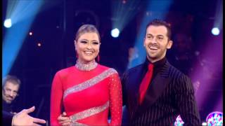 Holly Valance and Artem Chigvintsev - Argentine Tango - Strictly Come Dancing 2011