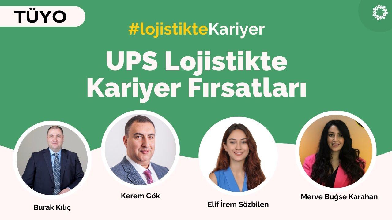 Lojistikte Kariyer | UPS Türkiye