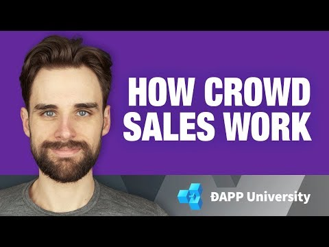 How An ERC-20 Token Crowd Sale Works (ICO) On Ethereum