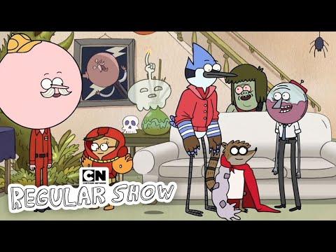 Regular Show | Halloween Party in Space! | Cartoon Network