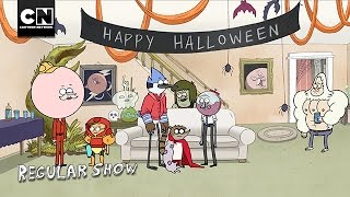 Regular Show | Halloween Party in Space! | Cartoon Network