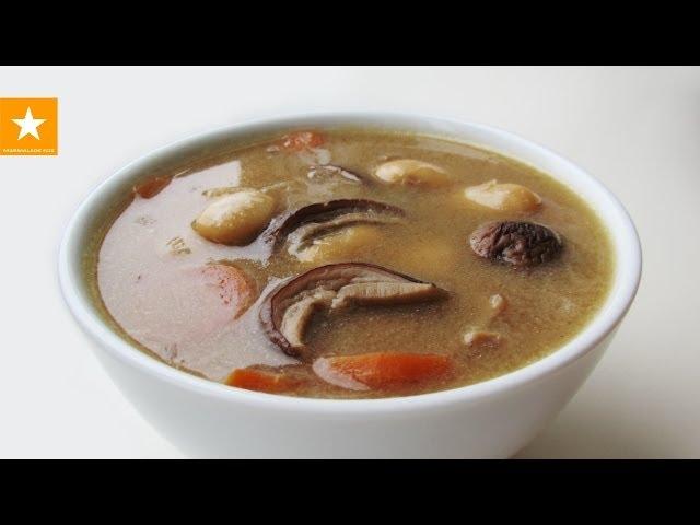 Грибной суп от Мармеладной Лисицы