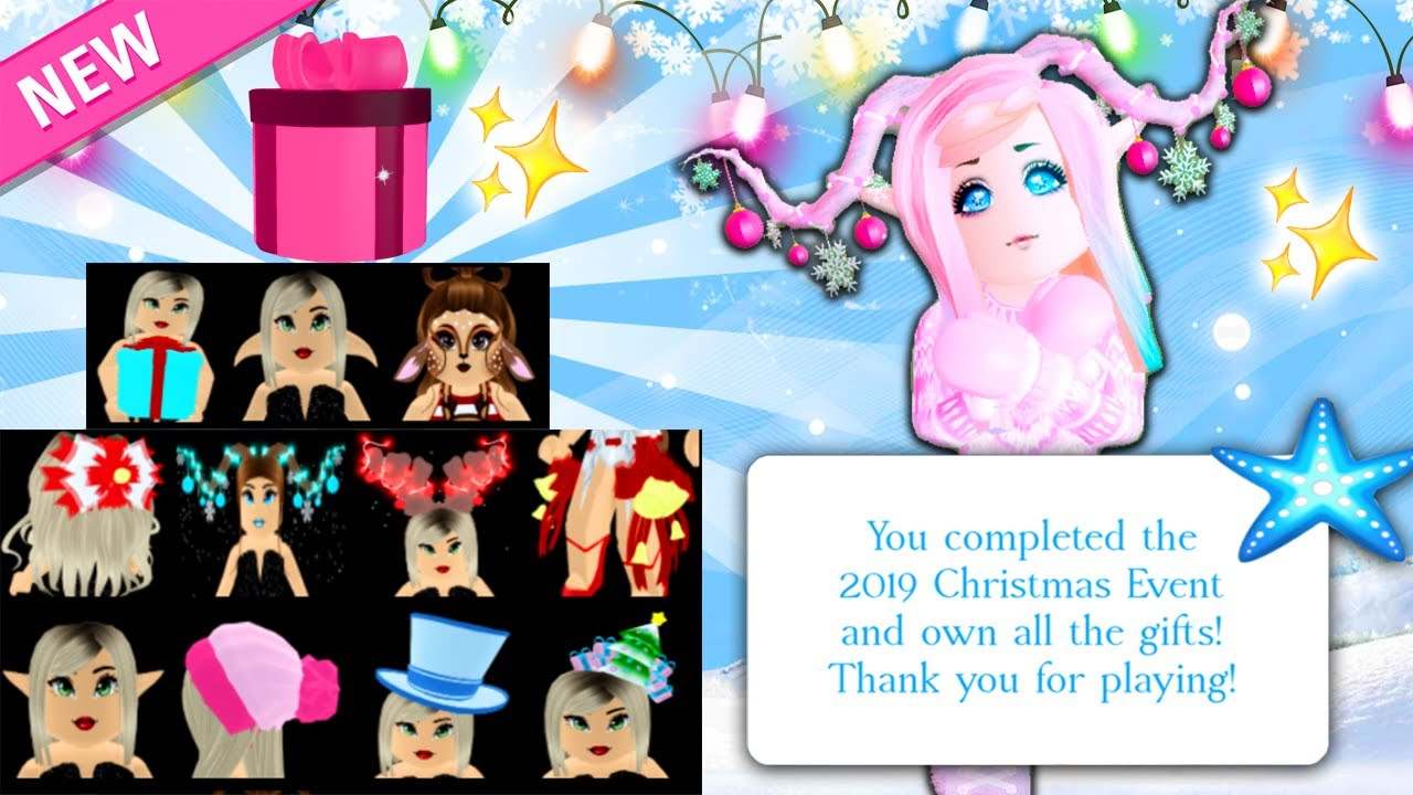Royale High Christmas 2020 Showcasing all 11 Brand NEW CHRISTMAS ACCESSORIES In Royale High