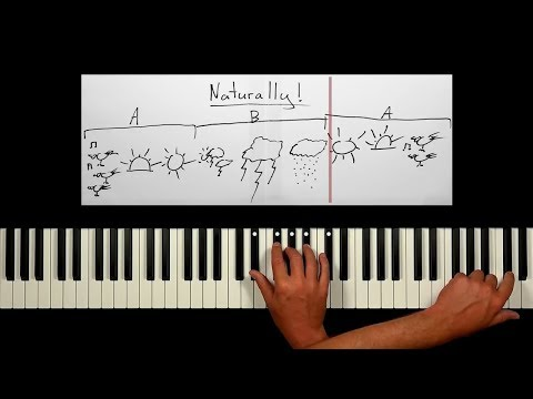 PIANO IMPROVISATION FOR BEGINNERS - Just Play The Black Keys!!!