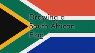 Drawing a South African Flag