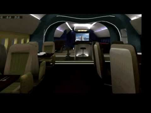 x-plane 787 dreamliner VIP cabin tour