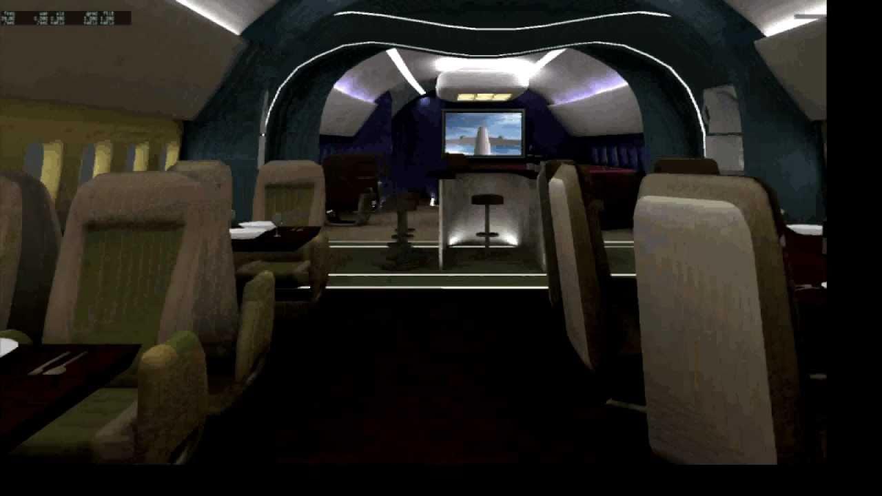 X Plane 787 Dreamliner Vip Cabin Tour Youtube