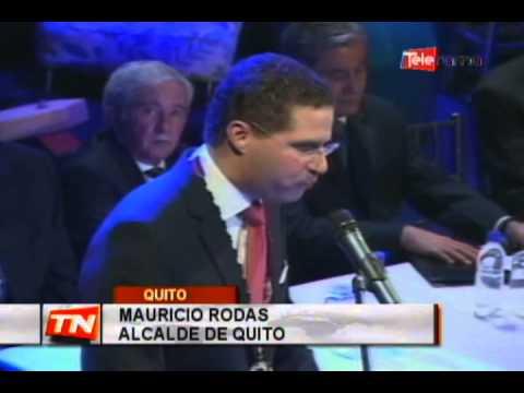 Mauricio Rodas fue posesionado como alcalde de la capital
